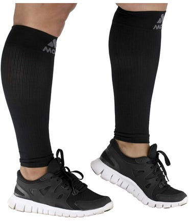 Mojo Compression Calf Sleeves, Firm Support 20-30mmHg - Unisex