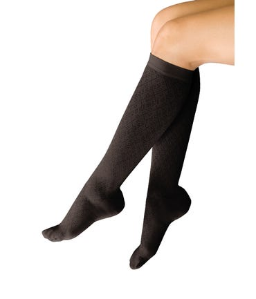 Therafirm 8-15 mmHg Light Support Trouser Socks - THERAFIRMLIGHT-1015-RIBBED-TRSK