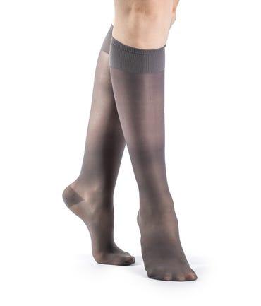 Sigvaris 120C Sheer Fashion Knee High 15-20