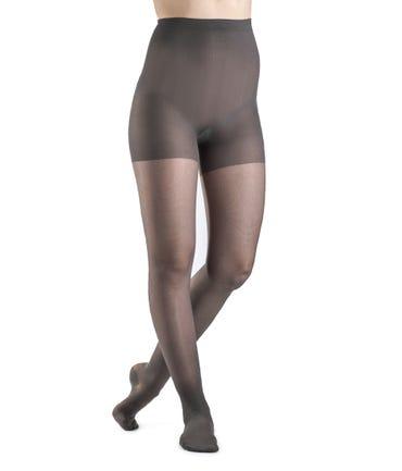 Sigvaris 120P Sheer Fashion Pantyhose 15-20 Closed Toe
