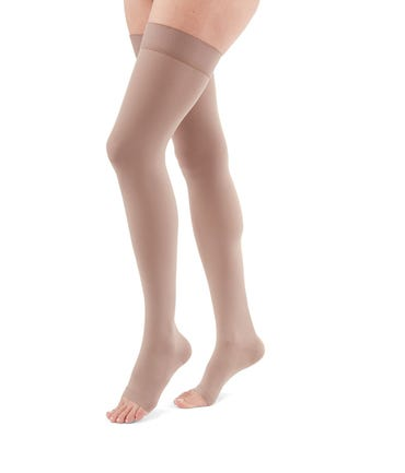 Mediven Duomed Advantage Thigh High 20-30mmHg With Silicone Top Band
