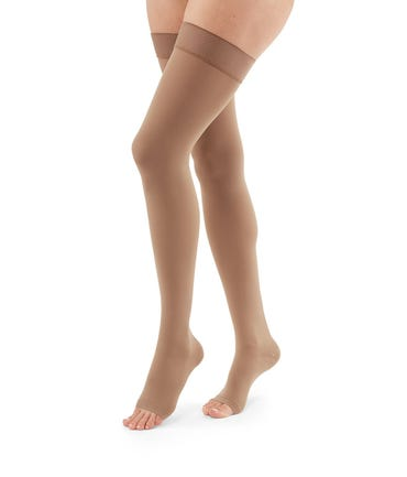 Mediven Duomed Advantage Thigh High 30-40mmHg With Silicone Top Band