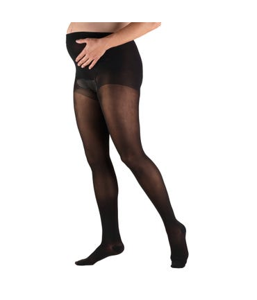 Truform 15-20 mmHg Medium Support Pantyhose Closed Toe -1777