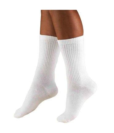 Truform 15-20 mmHg Medium Support Ankle Socks Closed Toe -1932