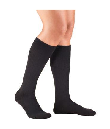 Truform 15-20 mmHg Medium Support Trouser Socks Closed Toe -1963