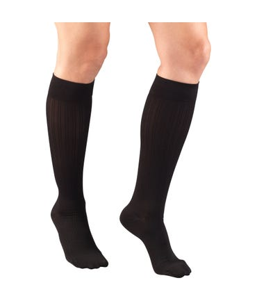 Truform 15-20 mmHg Medium Support Trouser Socks Closed Toe -1973