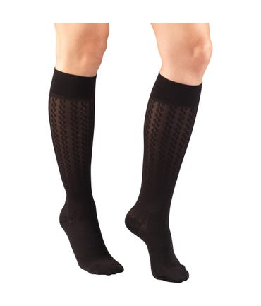 Truform 15-20 mmHg Medium Support Trouser Socks Closed Toe -1975