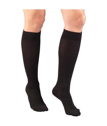 Truform 15-20 mmHg Medium Support Trouser Socks Closed Toe -1976