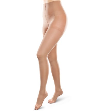 Therafirm 20-30 mmHg Firm Support Pantyhose Open Toe - EASE-OPQ-2030-U-OT-PTH