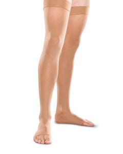 Therafirm 20-30 mmHg Firm Support Thigh High Closed and Open Toe - 2030-THI