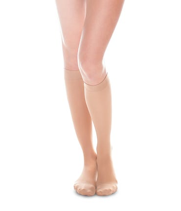 Therafirm 20-30 mmHg Firm Support Knee High Closed and Open Toe - SHEEREASE-2030-KHI