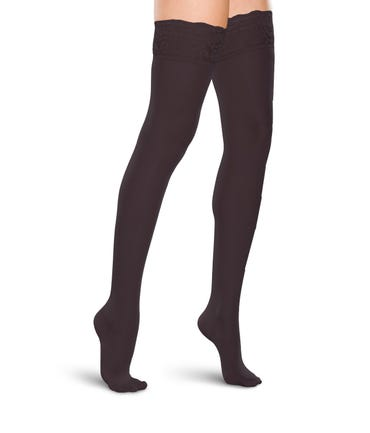 Therafirm 20-30 mmHg Firm Support Thigh High - LACETOP-2030-W-THI