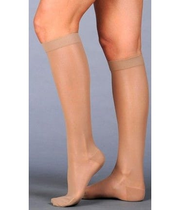 Juzo Naturally Sheer 2101AD - Thigh High 20-30mmHg Firm Support