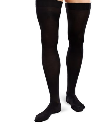 Therafirm 30-40 mmHg Extra Firm Support Thigh High Closed Toe - EASE-OPQ-3040-M-THI