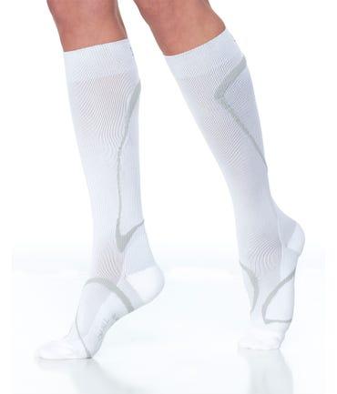 Sigvaris 412C Performance Unisex Knee High Socks 20-30 Closed Toe