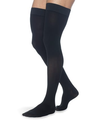 Sigvaris Secure 40-50 mmHg RX Support Thigh High Closed Toe - 554NM
