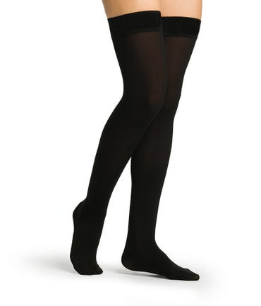 Sigvaris Secure 40-50 mmHg RX Support Thigh High Closed Toe - 554NW