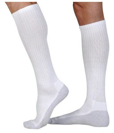 Juzo Silver Sole Knee High 12-16mmHg Closed Toe