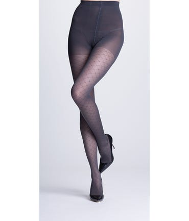 Sigvaris Allure Patterned Firm Support Pantyhose 20-30mmHg Compression