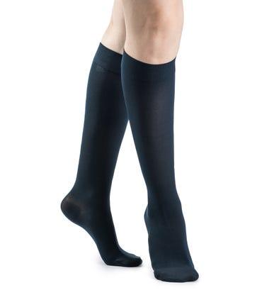 Sigvaris 841C Soft Opaque Knee High 15-20mmHg Compression