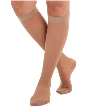 Absolute Support™ Sheer Compression Knee Highs, Medium Graduated Support 15-20mmHg