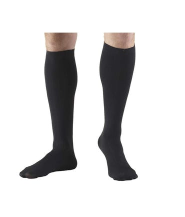 Absolute Support™ Microfiber Dress Compression Socks for Men - Firm Support 15-20mmHg
