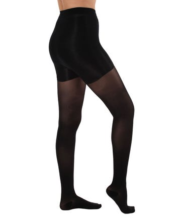 Absolute Support™ Sheer Opaque Compression Pantyhose, Firm Compression 20-30mmHg - 1 Pair - Made in the USA - A2015