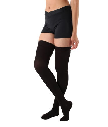 Absolute Support™ Opaque Compression Stockings - Thigh Hi Firm Compression 20-30mmHg - Unisex