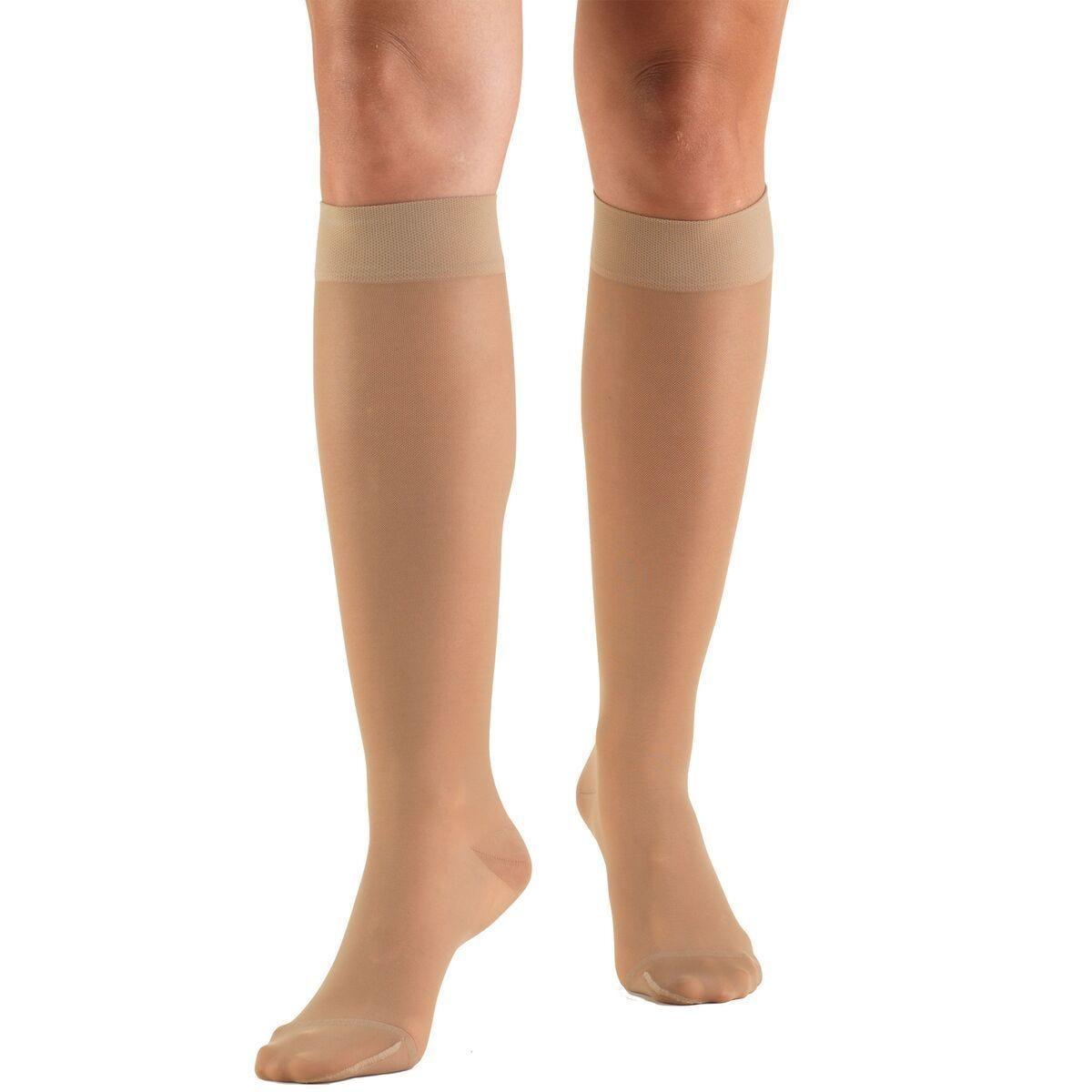 20-30mmHg Compression Stockings. Knee High Compression Socks for Men /& Women.