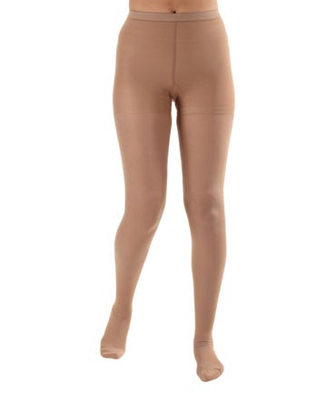 Absolute Support™ Microfiber Opaque Compression Pantyhose - Firm Support 20-30mmHg – Closed Toe