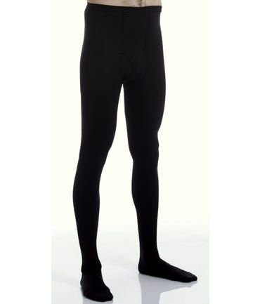 Absolute Support™ Compression Leotard Pantyhose for Men with Fly Opening - Firm Support 20-30mm