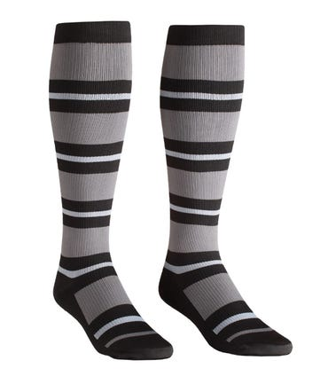 Absolute Support™ Modern Mens Stripe Compression Socks - 20-30mmHg