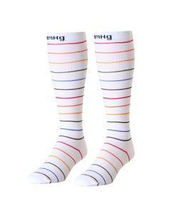 mmHg Compression Socks Pinstripe 20-30mmHg