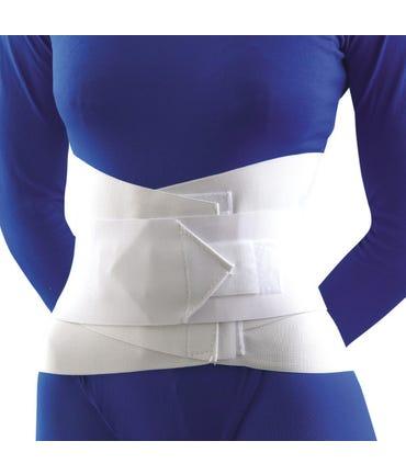 """FLA 31-208 Lumbar Sacral Support W/Abdominal Belt,10"""" High"""