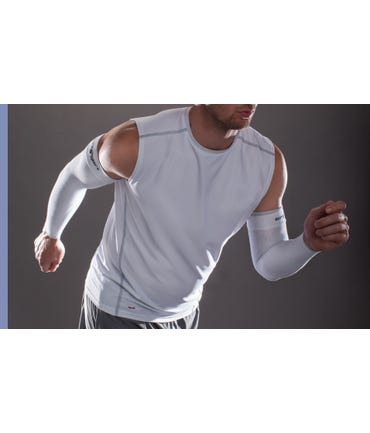 Therafirm 15-20 mmHg Medium Support Arm Sleeves - CORE-SPORT-1520-ATHASL