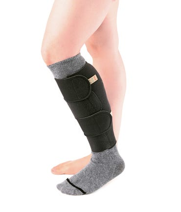 Sigvaris CompreFlex No Foot Knee High - CXBKNF