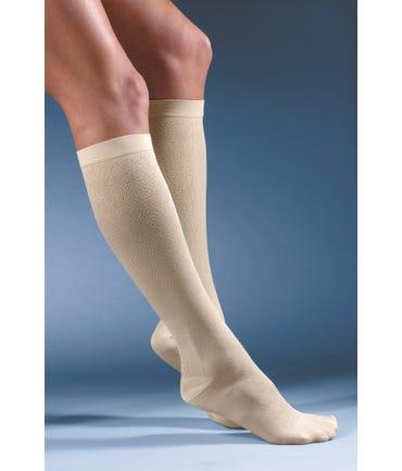 Activa H27 Women's Diamond Pattern Dress Socks 15-20mmHg Closed Toe