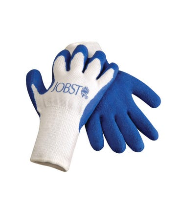 Jobst Donning Gloves 100% Cotton With Blue Latex