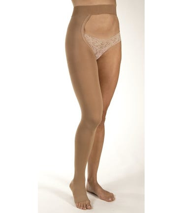 Jobst Chap Style Compression Stockings - Thigh High With Waist Attachment - Firm Support 20-30mmHg