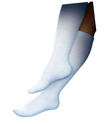 Jobst Sensifoot Diabetic Sock Over The Calf 8-15mmHg