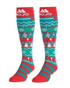 Mojo Compression Socks™ Mojo Sport Christmas Compression Socks - Firm Support 20-30mmHg