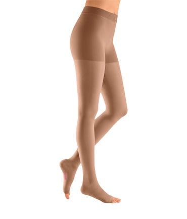 Mediven Plus Pantyhose 40-50 Open Toe RX Compression