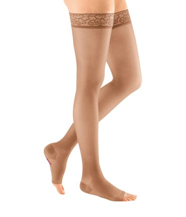Mediven Sheer & Soft Thigh High 15-20mmHg