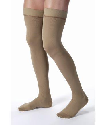 Jobst Mens Thigh W/Silicone Grip Firm Compression 20-30mmHg