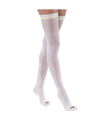 Jobst Anti-Embolisim Thigh High Elastic Stockings 15-20mmHg 6 pairs in a Box