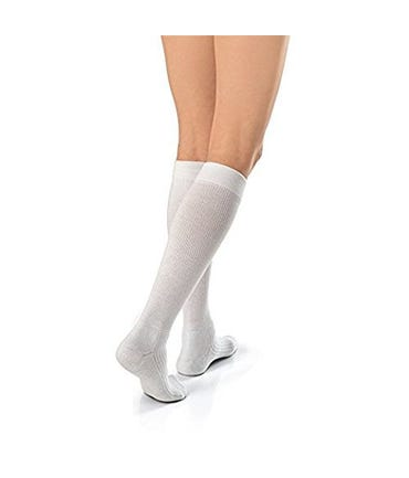 Jobst Active Wear Knee High Medium Support 15-20mmhg Compression Closed Toe