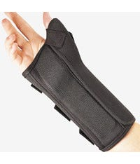 FLA 22-460 ProLite Wrist Support Brace W/Abducted Thumb,Righ
