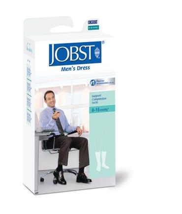 Jobst Jobst Mens Dress 8-15 mmHg Light Support Dress Socks Closed Toe - JFMDRESS