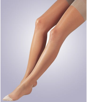 Activa Sheer Therapy Pantyhose W/Control Top 15-20mmHg Closed Toe