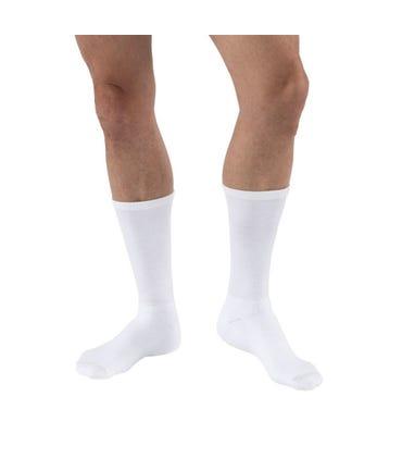 Activa H313 CoolMax Athletic Socks Crew Length 20-30mmHg Closed Toe